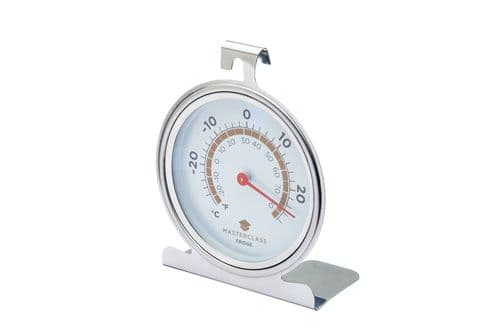 Master Class Large Stainless Steel Fridge and Freezer Thermometer